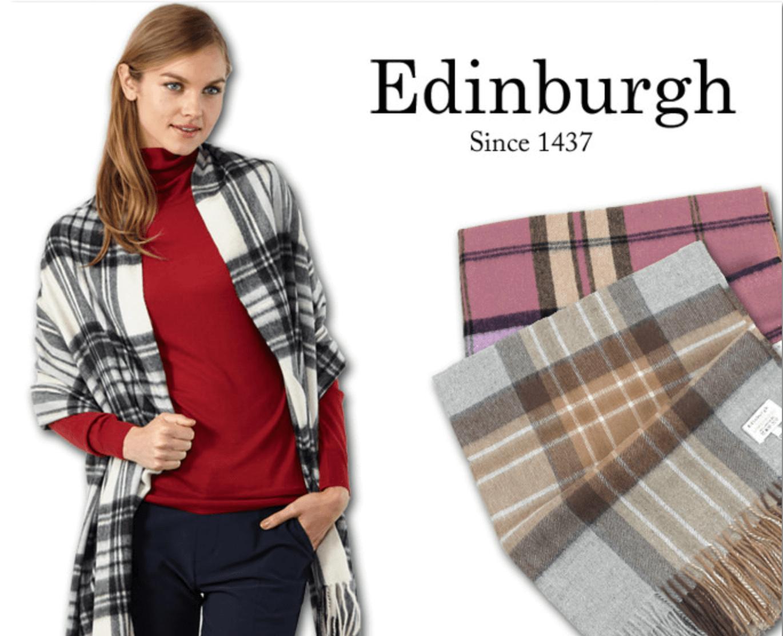 定番からヴィヴィッドなカラーまで揃う「Edinburgh」